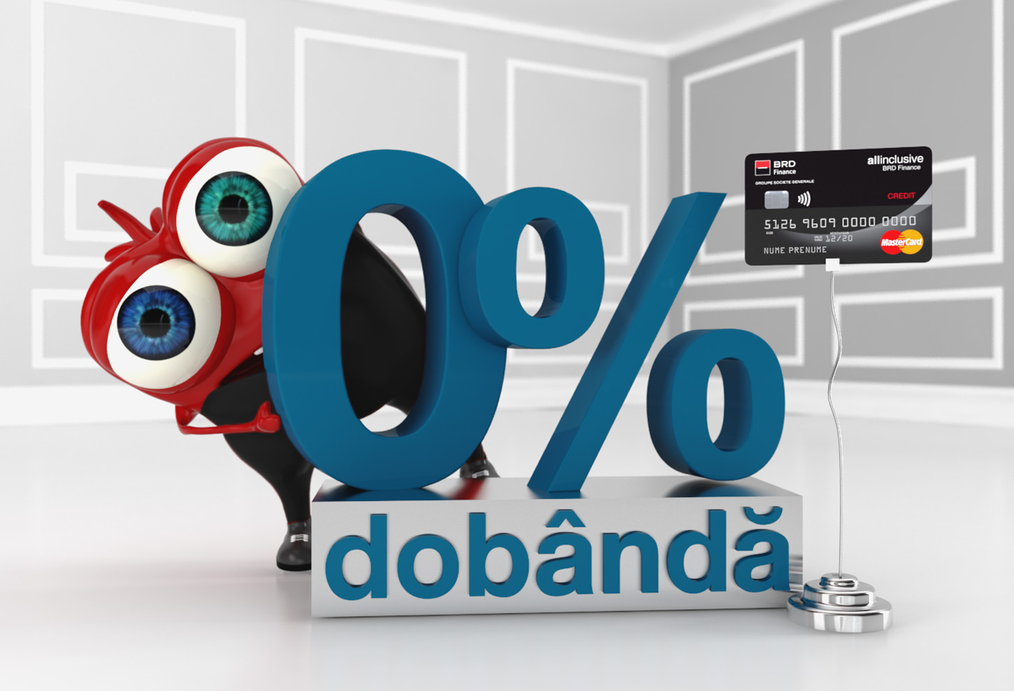 3D-toon-character-modeling-poster-design-banking-0-interest-rate-ad-3DArtStudio